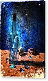 Message For You Acrylic Print by Randi Grace Nilsberg