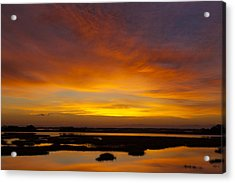 Message From The Universe  Sunrise Photograph By Jo Ann Tomaselli Acrylic Print