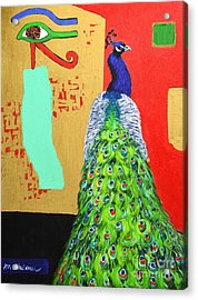 Messages Acrylic Print by Ana Maria Edulescu