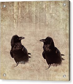 Messenger Acrylic Print by Priska Wettstein