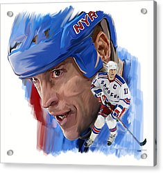 Messier II Mark Messier Acrylic Print