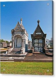 Metairie Cemetery 4 Acrylic Print by Steve Harrington