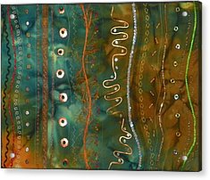 Metal Candy Acrylic Print by Jenny Williams