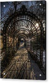 Metal Garden Acrylic Print
