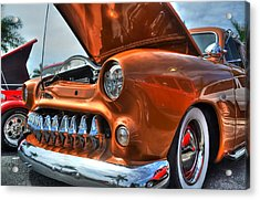 Metal Mouth Hot Rod Acrylic Print