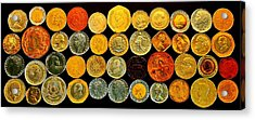 Metal Profiles Acrylic Print by Benjamin Yeager