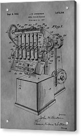 Metal Working Machine Acrylic Print by Dan Sproul