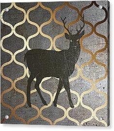 Metallic Nature I Acrylic Print by Andi Metz