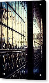 Metallic Reflections Acrylic Print by Melanie Lankford Photography