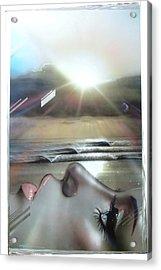 Ocean - ' Metallic Visions ' Acrylic Print