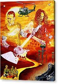 Metallica-one Acrylic Print by Joshua Morton