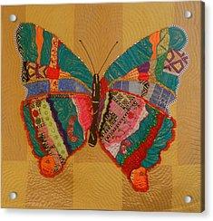 Metamorphosis Acrylic Print by Aisha Lumumba