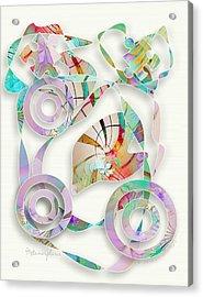 Metamorphosis Acrylic Print by Gayle Odsather