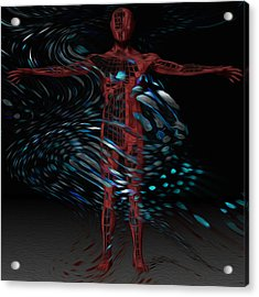 Metamorphosis Acrylic Print by Jack Zulli