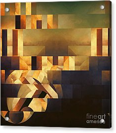 Metaphysical Action Acrylic Print by Lonnie Christopher