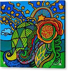 Metaphysical Starpalooza Acrylic Print by Genevieve Esson