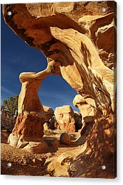 Metate Arch Acrylic Print by Leland D Howard
