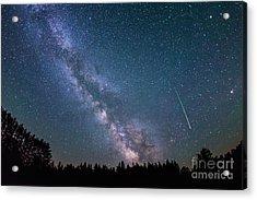 Meteor Milky Way  Acrylic Print