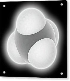 Methane Molecule Acrylic Print