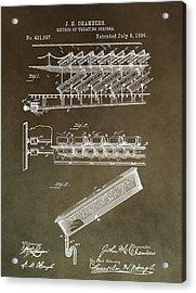 Method Of Treating Corpses Acrylic Print