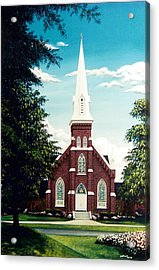 Methodist Church Acrylic Print