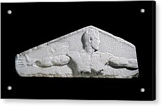 Metrological Relief Acrylic Print by Ashmolean Museum/oxford University Images