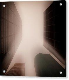 Metropolis Acrylic Print by Dave Bowman