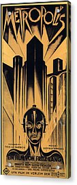 Metropolis Poster Acrylic Print