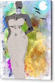 Metropolitan Acrylic Print by Romaine Head