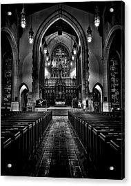 Metropolitan United Church 1 Toronto Canada Acrylic Print by Brian Carson