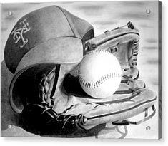 Mets Acrylic Print by Jennifer Wartsky