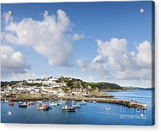 Mevagissey Cornwall England Acrylic Print by Colin and Linda McKie