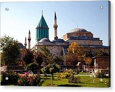 Mevlana Museum - Konya 2013 Acrylic Print by Jacqueline M Lewis