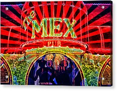 Mex Party Acrylic Print by Richard Farrington