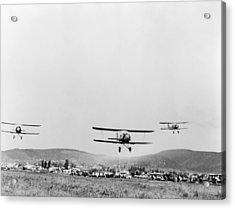 Mexican Air Force, 1942 Acrylic Print by Granger