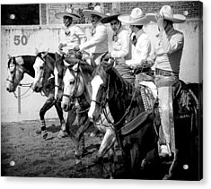 Mexican Cowboys Acrylic Print
