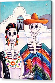 Mexican Gothic Acrylic Print by Candy Mayer