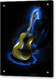 Mexican Guitar Acrylic Print