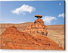 Mexican Hat Rock Acrylic Print by Christine Till