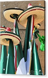 Acrylic Print featuring the photograph Mexican Independence Day - Photograph By David Perry Lawrence by David Perry Lawrence