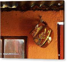 Mexican Pottery Acrylic Print by Joy Nichols