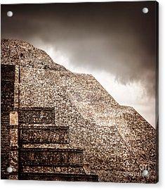 Mexican Pyramid Acrylic Print