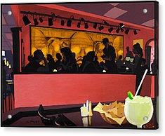 Mexican Restaurant Acrylic Print