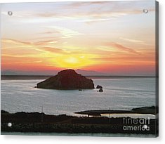 Acrylic Print featuring the photograph Mexican Riviera Sunset by Gena Weiser