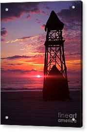 Mexican Sunset Acrylic Print by Derek Conley