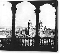 Mexico City Plaza Acrylic Print