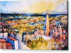 Mexico-city The Endless Town Acrylic Print