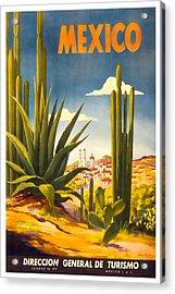 Mexico Direccion General De Turismo Acrylic Print