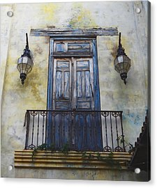 Mexico.old Town Acrylic Print