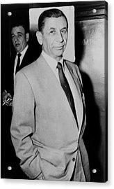 Meyer Lansky - The Mob's Accountant 1957 Acrylic Print
